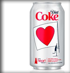 coca cola heart