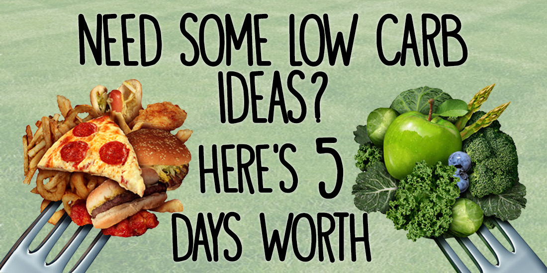 Basic Five Day Low Carb Meal Ideas